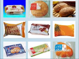 La película Sami-Automatic bolsa de papel de envolver la pequeña máquina de envasado de alimentos