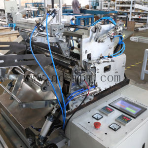 Pegamento caliente tubo de papel de la máquina de etiquetado