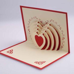 ペーパー結婚式の招待状の招待のカードのための小型レーザーの彫版機械によってはカードレーザーの彫刻家が現れる