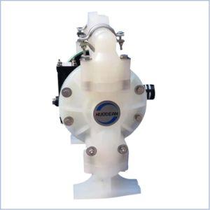 1  de l'air en plastique PP exploités sous tension de la pompe à double membrane pneumatique