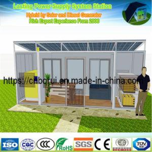 Гибридные солнечные энергетические системы автоматической 50 Ква 40квт генератора дизельного двигателя Cummins