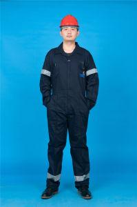 El 65% Poliéster 35% de manga larga de algodón de alta calidad de seguridad mono baratos (BLY1020)