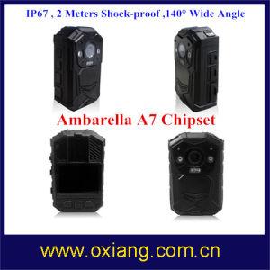 1080P de la policía IP65 Idioma multifunción de la cámara de visión nocturna por infrarrojos Cuerpo cámara