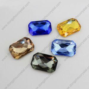 De in het groot Steen van de Juwelen van het Kledingstuk van het Kristal van de Achthoek voor de Toebehoren van de Manier