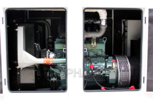 30kVA 방음 Isuzu 엔진 디젤 발전기