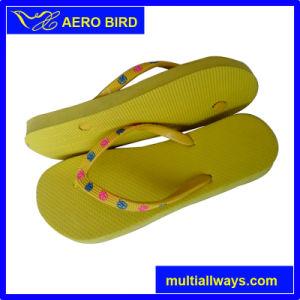 Чистый цвет простой девочек открытый PE единственной тапочки благоухающем курорте обувь