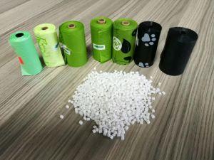 Biodegradierbarer Abfall-Beutel gebildet von der Maisstärke