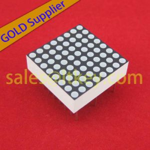 8X8 LED de matriz de puntos con la conformidad con RoHS