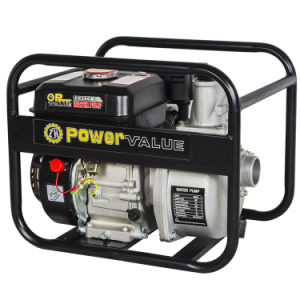 Motore di valore Wp20cx 5.5HP di potere pompa ad acqua della benzina da 2 pollici