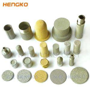 Gesinterte Edelstahl-Filter der Mikron-poröses Metalltitannickel-Bronzen-SS