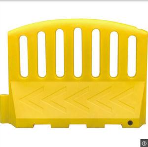Amarelo cheio de água atraente Barreira de tráfego para o trabalho de estrada (CC-S05)