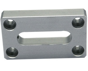 Kundenspezifische Aluminium (Stahleisen-Kupfer-Bronzen-Messing-) Metallprodukt CNC maschinelle Bearbeitung