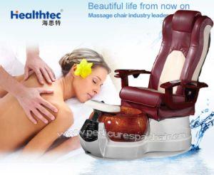 La belleza del almacén de uñas Nail silla con Foot-Bath Fiber-Glass bañera (C109-5102)