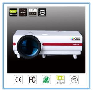 Projektor 1080P Proyector des hohe Helligkeits-Unterhaltungs-Gebrauch-LED LCD