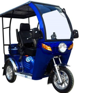 Sale (SY110ZK-F)를 위한 3 Wheel Closed Gas Disabled Passenger Handicapped Scooter