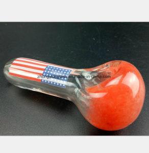 Glaspfeife des roten Filter-Tabak-Rohr-Wiederanlaufs