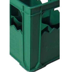 24 زجاجات جعة صندوق شحن بلاستيكيّة جعة صندوق شحن [هيغقوليتي] بلاستيك 24 زجاجة جعة صندوق شحن