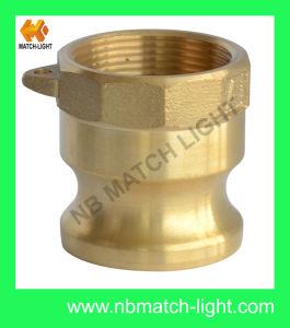 Tipo d'ottone dell'adattatore del pezzo fuso di sabbia un accoppiamento della serratura della camma