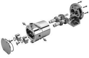 Ss316санитарных насоса ротора из нержавеющей стали