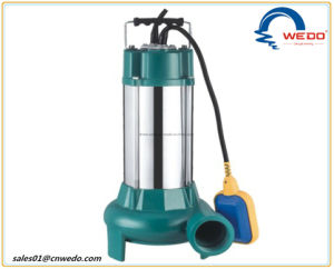 浸水許容の下水の電気水ポンプ、V750 1HP