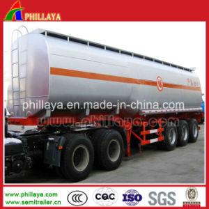 Sattelschlepper-Edelstahl-Kraftstoff-Tanker-halb LKW-Schlussteil mit Datenträger passte an