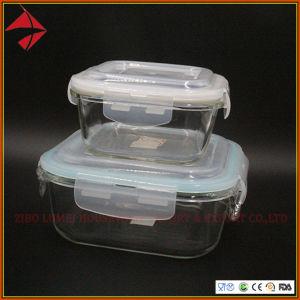 مررت [فدا] شهادة مطبخ طعام تخزين زجاجيّة وجبة [برب] وعاء صندوق