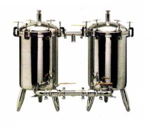 ステンレス鋼のChmicalの単一のバッグフィルタ