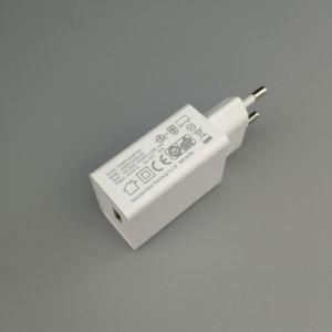 5V 1A USB-Handy-Aufladeeinheit Wechselstrom-Wand-Adapter-Arbeitsweg-Energie mit EU-Stecker
