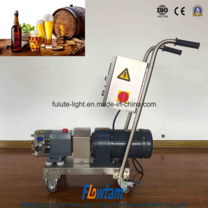 Lóbulo de la cerveza de higiene eficaz Bomba Bomba de rotor