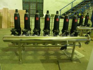 Ss automática de filtro de disco para el tratamiento del agua agrícola