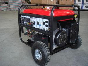 Grupo Electrógeno gasolina portátil (50/60 Hz).