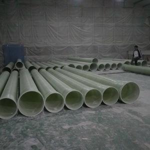FRP GRP Rohr für Bauvorhaben