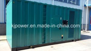 560kw en silencio generador eléctrico propulsado por motor Diesel Googol