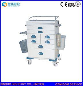 ABS van de Apparatuur van het ziekenhuis het MultiKarretje Van uitstekende kwaliteit van de Medische Behandeling van het Gebruik