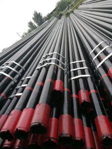 Tubo senza giunte della tubazione dell'olio di API-5CT (EUE e NUE) con filettato e coppia, J/K55, N80, L80/P110 per servizio del giacimento di petrolio