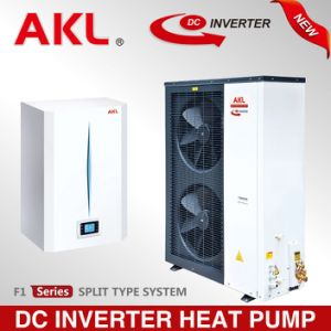 Marca Akl inversor DC monobloco de Ar da Bomba de calor de Água