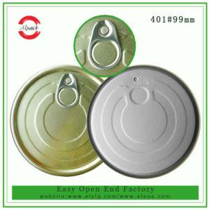 401# 99mm el PET puede abrir la tapa fácil de aluminio