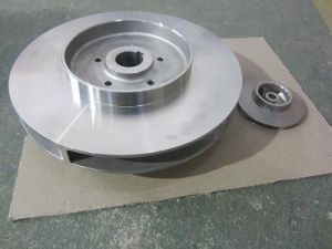 Edelstahl Closed Impeller in Precision Investment Casting Technology (WR100)