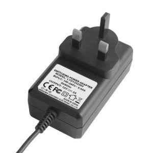 6V 플라스틱 엇바꾸기 전력 공급 접합기 입력 220V 산출 6V 4A AC 직류 전원 접합기