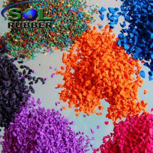 運動場のゴム床のためのEPDMカラー微粒