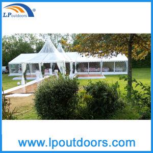 Tenda libera trasparente di lusso della tenda foranea di eventi di cerimonia nuziale del partito del tetto