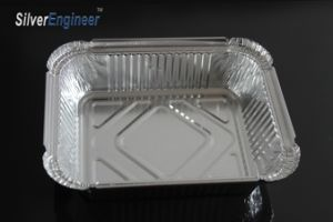 حديثا يصمد حرارة يحتبس طعام صندوق, [ألومينوم فويل] وجبة خفيفة صندوق لأنّ [فست فوود] يعبر