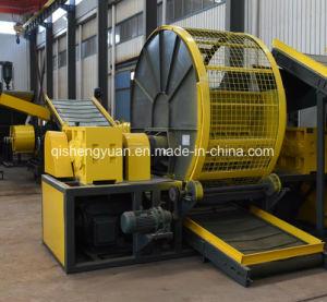 Déchets de haute performance de la machine de déchiquetage des pneus