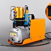 Compresseur à air Auto-Stop 30 MPa 4500 PSI 300 bar 220 V Fusil électriques PCP haute pression de remplissage de la pompe à air de refroidissement par eau Airgun