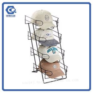 Встречная стойка индикации крышки шлема провода металла для магазина или супермаркета