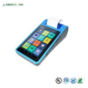 Qualidade do terminal de mão GPRS Android Assurrance Memória Fiscal Bis EMV POS PCI Máquina de faturamento com impressora Scanner de Código QR