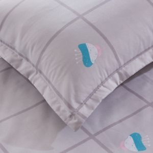 HauptgewebeMicrofiber Polyester-Gewebe gedruckte Bettwäsche