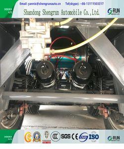 Depósito de combustible de aceite de 3 ejes Semi Remolque con suspensión de la elevación
