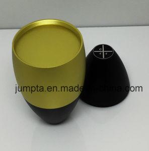 Accessori di alluminio di alta precisione del candeliere di CNC, candeliere di alluminio dell'acciaio inossidabile dell'hotel, base di alluminio della candela del supporto di candela della tazza di CNC