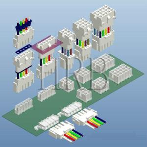 6,35 шага PCB разъем опускания жатки